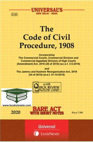 The Code of Civil Procedure, 1908 by Universal LexisNexis