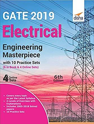 GATE 2019 Electrical Engineering Masterpiece with 10 Practice Sets (6 in Book + 4 Online) by Disha Experts