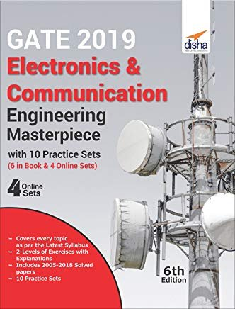 GATE 2019 Electronics & Communication Engineering Masterpiece with 10 Practice Sets (6 in Book + 4 Online)