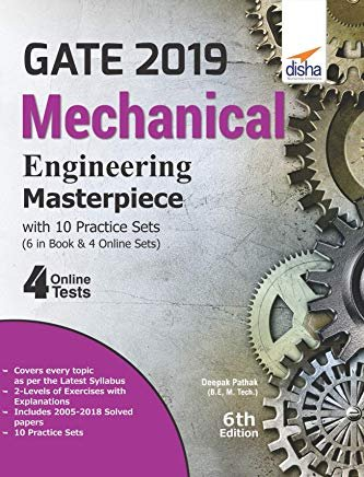 GATE 2019 Mechanical Engineering Masterpiece with 10 Practice Sets (6 in Book + 4 Online) by Deepak Pathak