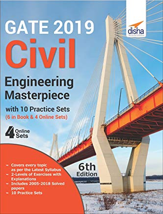 GATE 2019 Civil Engineering Masterpiece with 10 Practice Sets (6 in Book + 4 Online) by Prem Mohan