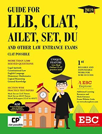 Guide for LLB, CLAT, AILET, SET, DU and Other Law Entrance Exams by Satyam Sahai