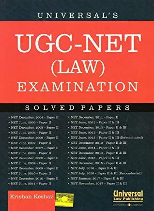 Universal's UGC-NET (Law) Examination - Solved Papers by Krishan Keshav