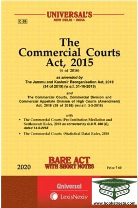 The Commercial Court  Act, 2015 by Universal LexisNexis