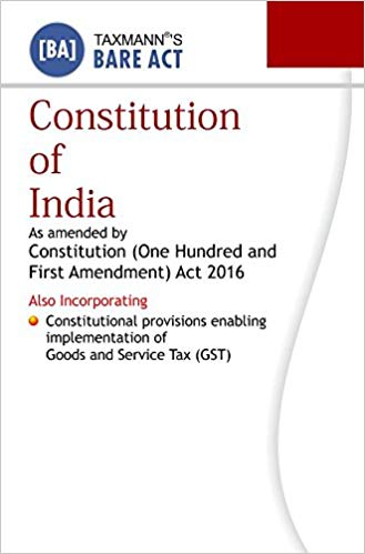 Constitution of India Bare Act Taxman
