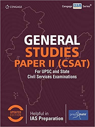 General Studies Paper II (CSAT) for UPSC and State Civil Services Examinations Paperback english medium