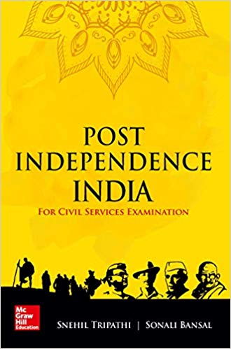 Post Independence India: For Civil Services Examinations Paperback english medium