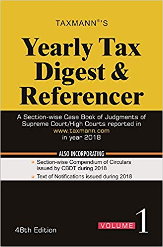 Yearly Tax Digest & Referencer (Set of 2 Volumes)