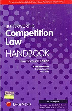 Butterworths Competition Law Handbook 24th Edition Set of 2 volume by Louis Tolley Antonio Bavasso