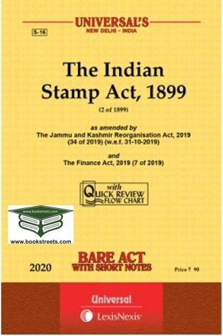 The Indian Stamp Act, 1899 by Universal LexisNexis