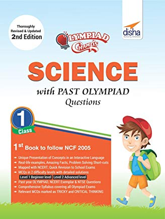Olympiad Champs Science Class 1 with Past Olympiad Questions 2nd Edition by Disha Experts