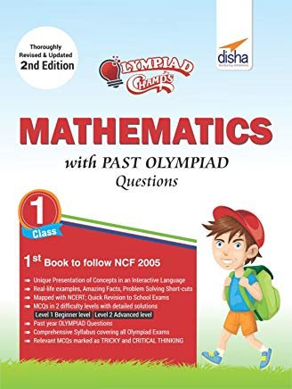 Olympiad Champs Mathematics Class 1 with Past Olympiad Questions 2nd Edition by Disha Experts