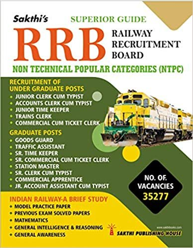 Rrb Non Technical Popular Categories NTPC Exam Book English Medium