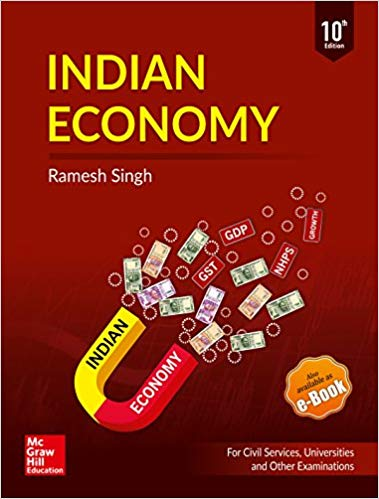 Indian Economy: For UPSC Civil Services & Other State PSC Examinations Paperback english medium