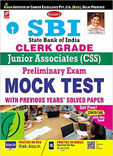 SBI Clerk Grade Junior Associates - CSS Preliminary Exam Mock Test medium english
