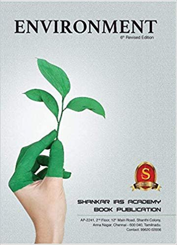 Environment By SHANKAR (6th) Revised Edition Paperback english medium