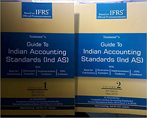 Guide to Indian Accounting Standards (Ind AS)(Set of 2 Volumes)(4th Edition 2019)