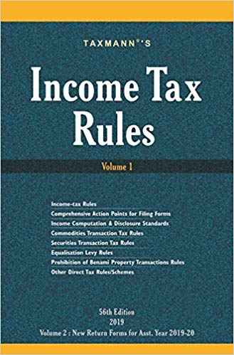 Income Tax Rules (Set of 2 Volumes) (56th Editon 2019)