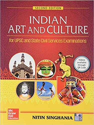 Indian Art and Culture Paperback by Nitin Singhania  Author english medium