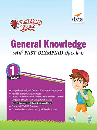 Olympiad Champs General Knowledge Class 1 with Past Olympiad Questions by Disha Experts