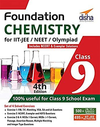 Foundation Chemistry for IIT-JEE/NEET/Olympiad for Class 9 by Disha Experts