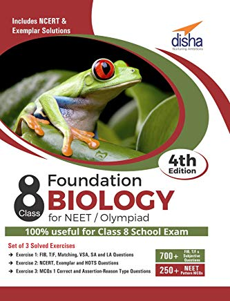Foundation Biology for NEET/ Olympiad Class 8 - 4th Edition by Disha Experts