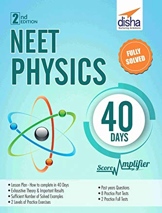 NEET Physics 40 Days Score Amplifier 2nd Edition by Disha Experts