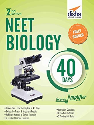 NEET Biology 40 Days Score Amplifier 2nd Edition by Disha Experts