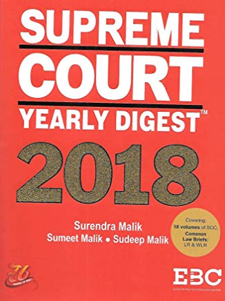Supreme Court Yearly Digest 2018 by Surendra Malik