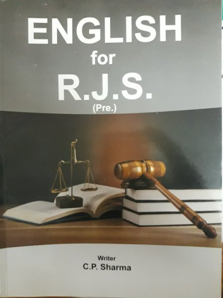 English For RJS MCQ by c.p.sharma