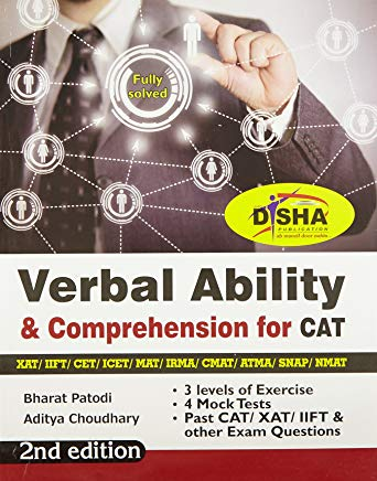 Verbal Ability & Comprehension for CAT/ XAT/ IIFT/ CMAT/ MAT/ Bank PO/ SSC 2nd Edition by Bharat Patodi and Aditya Choudhary