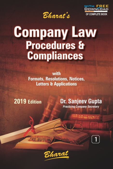 COMPANY LAW Procedures & Compliances (with FREE Download)