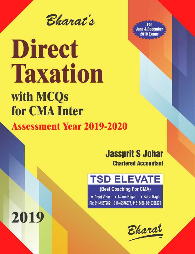 DIRECT TAXATION with MCQs (Paper 7)