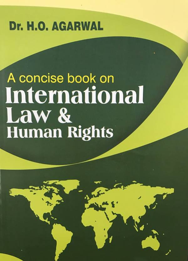 A concise book on International Law and Human Rights   Hindi, Paperback, HO Agarwal
