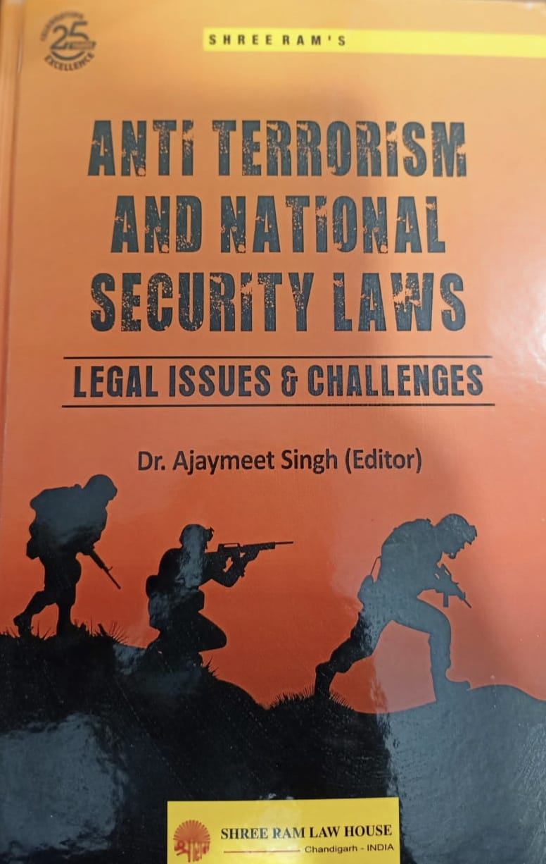 Shree Ram's Anti Terrorism and National Security Law by Shree Ram Law House