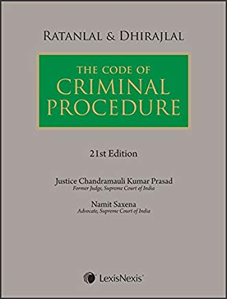 Ratanlal & Dhirajlal's The Code of Criminal Procedure by Lexis Nexis