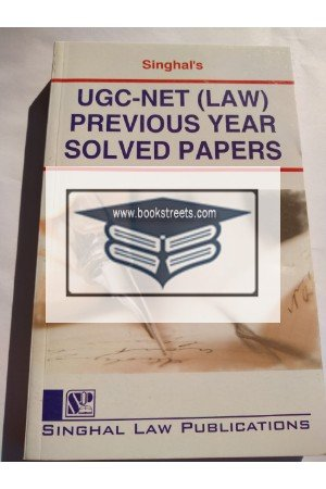 Singhal's UGC-NET (law ) Previous Paper Solved Papers