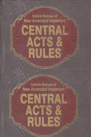 Central Acts and Rules Set of 15 Volumes Edition 2018 by india law house delhi
