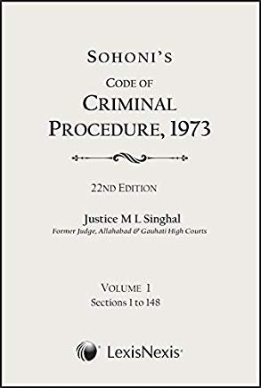 Sohoni's Code of Criminal Procedure, 1973 (Set of 5 Volumes) by Lexis Nexis
