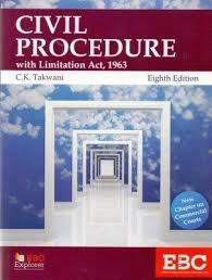 Civil Procedure with Limitation Act, 1963 And Chapter On Commercial Courts  by C.K. Takwani