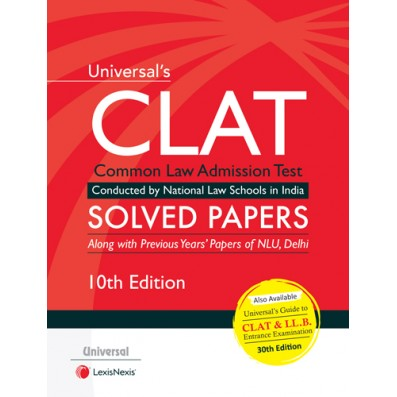 Universal's  CLAT - Solved Papers by LexisNexis