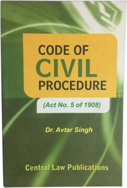 Code Of Civil Procedure Act No Of 1908 Paperback, Dr. Avtar singh english medium