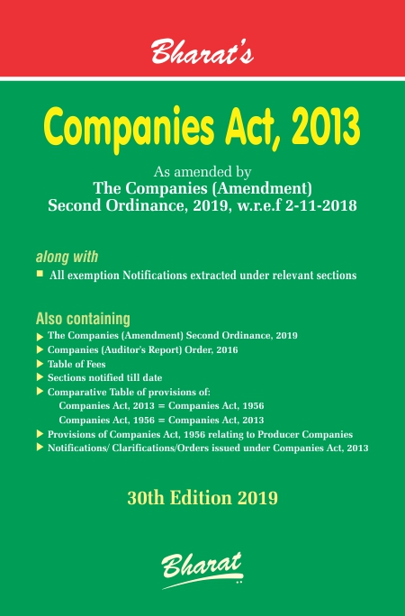 COMPANIES ACT, 2013 by bharat