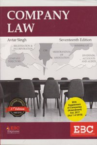 Company Law Paperback – 2018 by Avtar Singh  (Author)