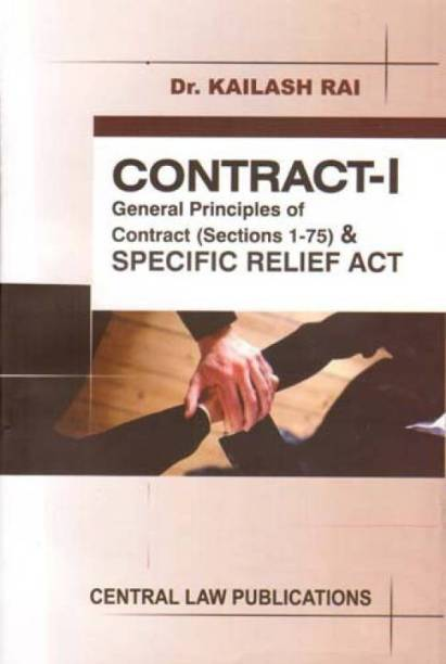 Contract- I And Specific Relief Act  English Paperback Kailash Rai