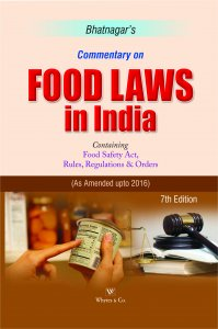 Commentary On Food Laws In India By Whytes & co.