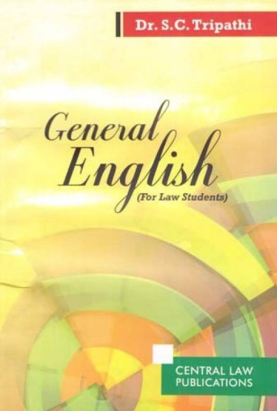 General English For Law Students English, Paperback, S. C. Tripathi