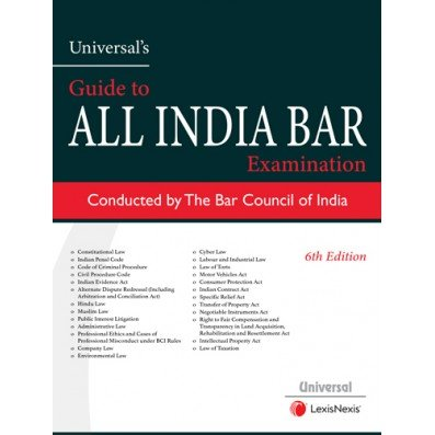 Universal's Guide to All India Bar Examination by LexisNexis