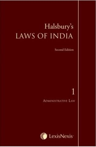 Universal's  Halsbury's Laws of India-Administrative Law; Vol 1 by LexisNexis