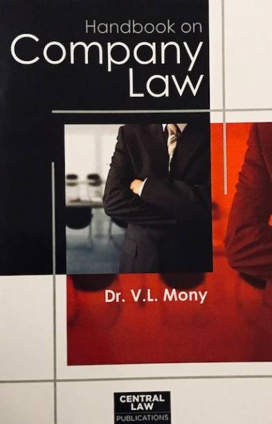 Handbook on Company Law English, Paperback, V.L. Mony english medium